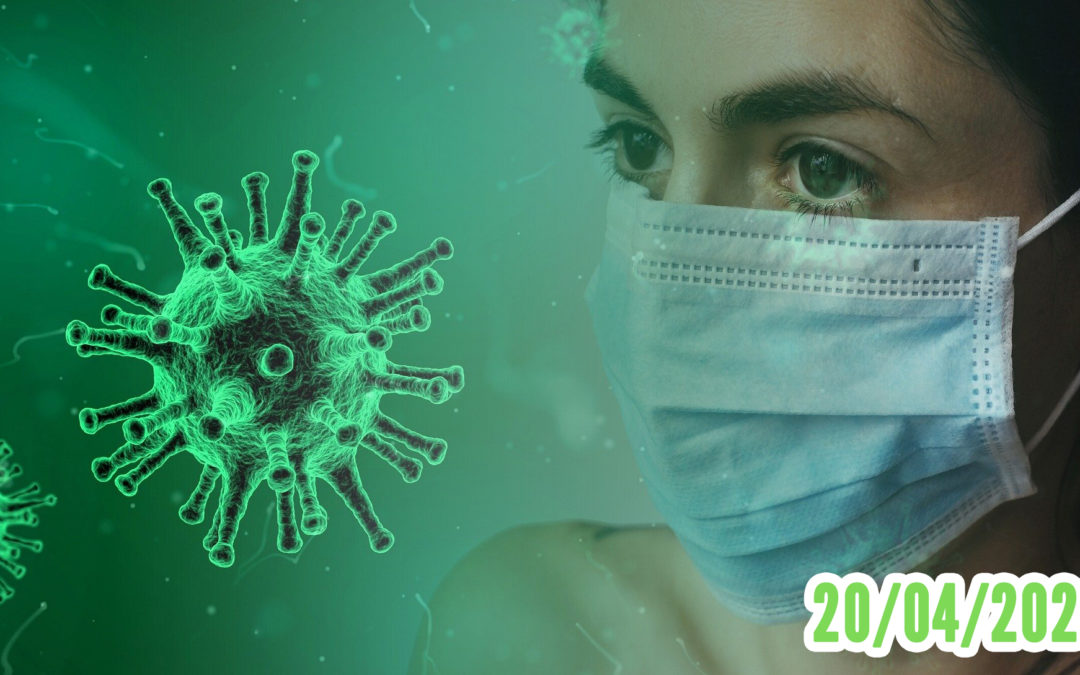Coronavirus confinement 20/04/2020