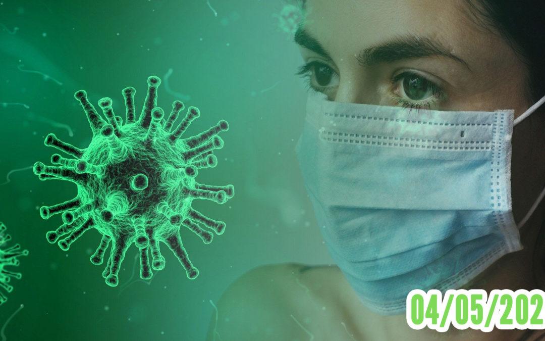 Coronavirus confinement 04/05/2020