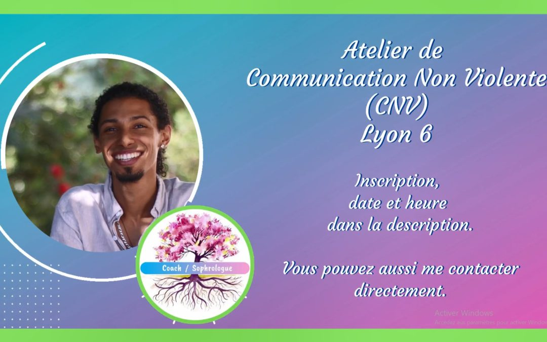 Atelier de Communication Non Violente (CNV)
