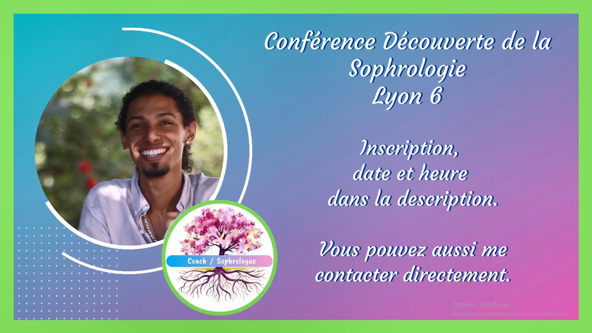conférence de sophrologie lyon 6